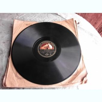 DISC DE GRAMOFON, HIS MASTER'S VOICE, COPPELIA BALLET