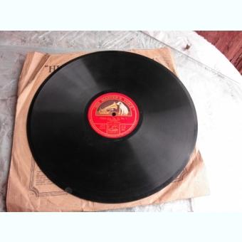 DISC DE GRAMOFON, HIS MASTER'S VOICE, GIPSY AIRS, OP.20 NR.1