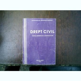 Drept civil teoria genearla a obligatiilor - Smaranda Angheni
