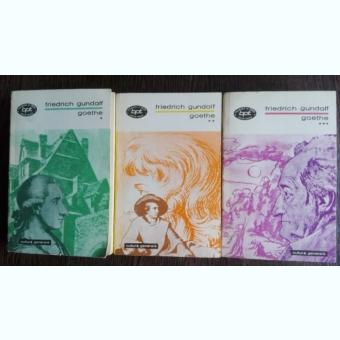 GOETHE - FRIEDRICH GUNDOLF (3 vol.)