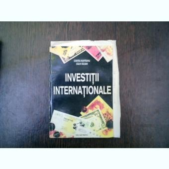 Investitii internationale - Costea Munteanu, Calin Vaslan