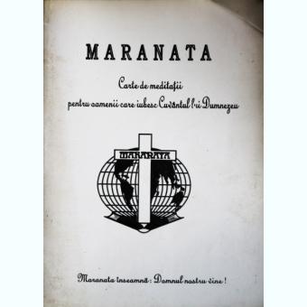 MARANATA, CARTE MEDITATII, PAUL GERHARD MINK