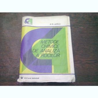 METODE CHIMICE DE ANALIZA A ROCILOR - P.G. JEFFERY