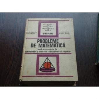 PROBLEME DE MATEMATICA - LIVIU PIRSAN, C.IONESCU TIU