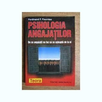 PSIHOLOGIA ANGAJATILOR - FERDINAND F. FOURNIES