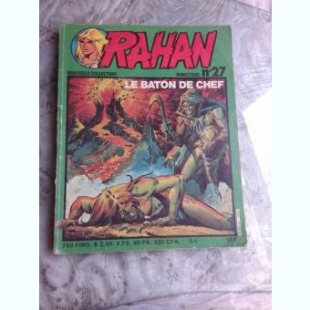 RAHAN NR 27/MAI 1982, TEXT IN LIMBA FRANCEZA