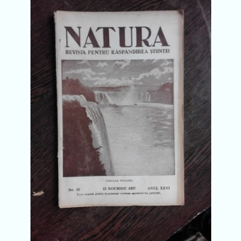 REVISTA NATURA NR.10/1937