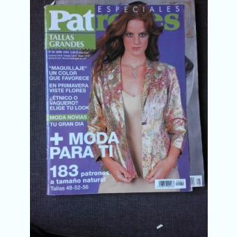 REVISTA PATRONES NR.29/2004, TEXT IN LIMBA ITALIANA, REVISTA DE MODA