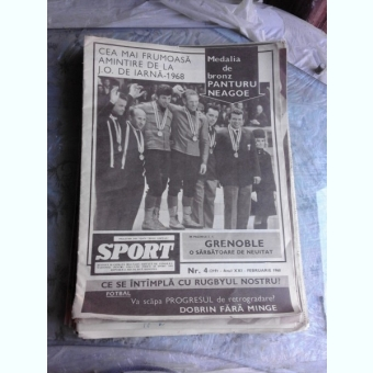 REVISTA SPORT NR.4/1968