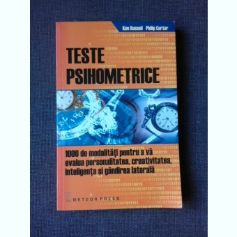 TESTE PSIHOMETRICE - KEN RUSSELL, PHILIP CARTER