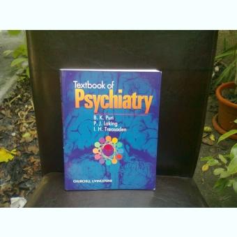 TEXTBOOK OF PSYCHIATRY - B.K. PURI