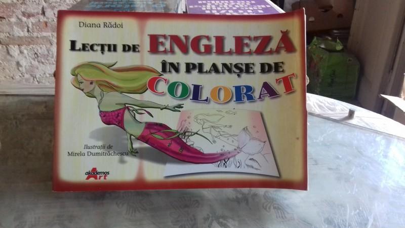 Lectii De Engleza In Planse De Colorat Diana Radoi